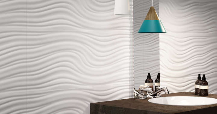 carrelage contemporain blanc brillant carrelage de la tour montpellier herault 34