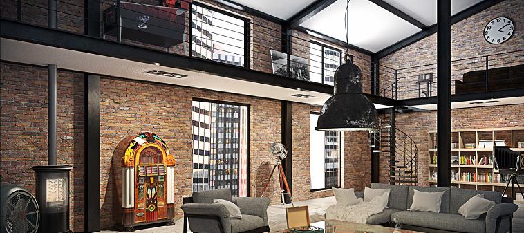 décoration loft style industriel