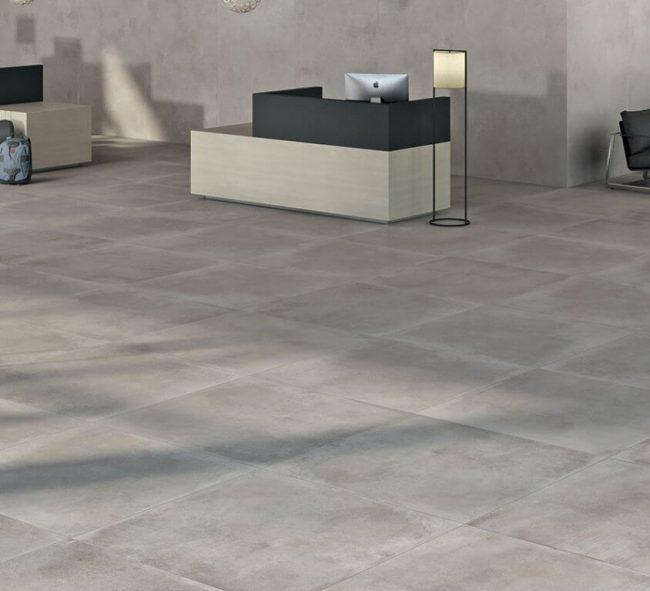 carrelage beton grand format