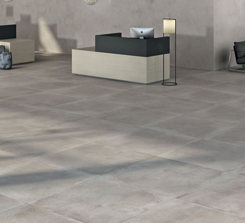carrelage beton grand format