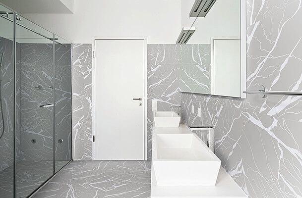 carrelage design marbre salle de bain montpellier