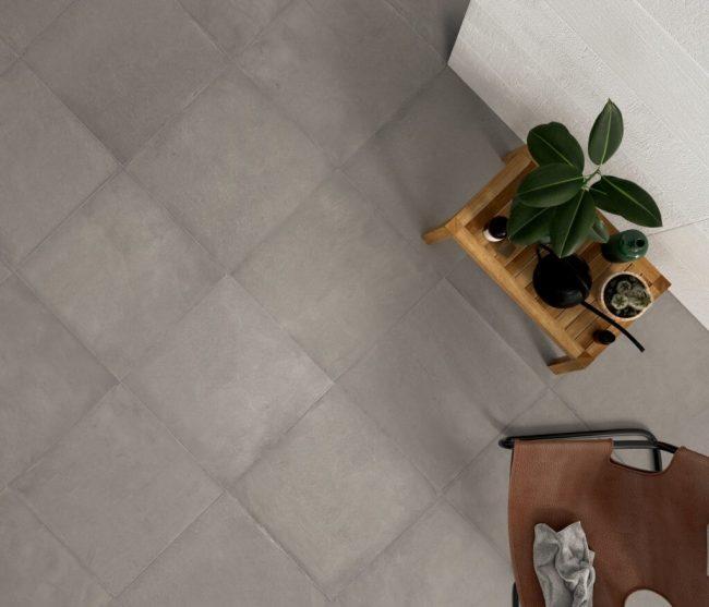 carrelage effet beton laverune