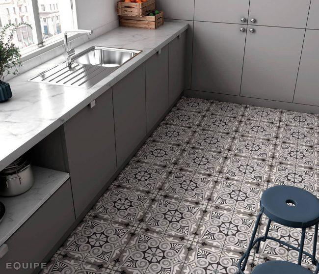 carrelage effet carreaux de ciment