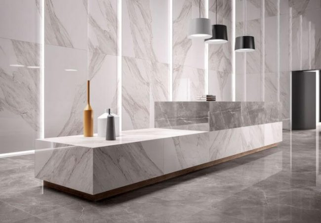 carrelage grand format marbre a saussan