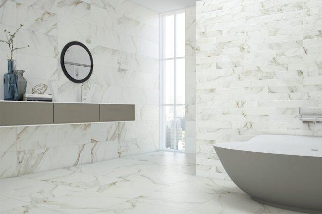 carrelage marbre blanc montpellier