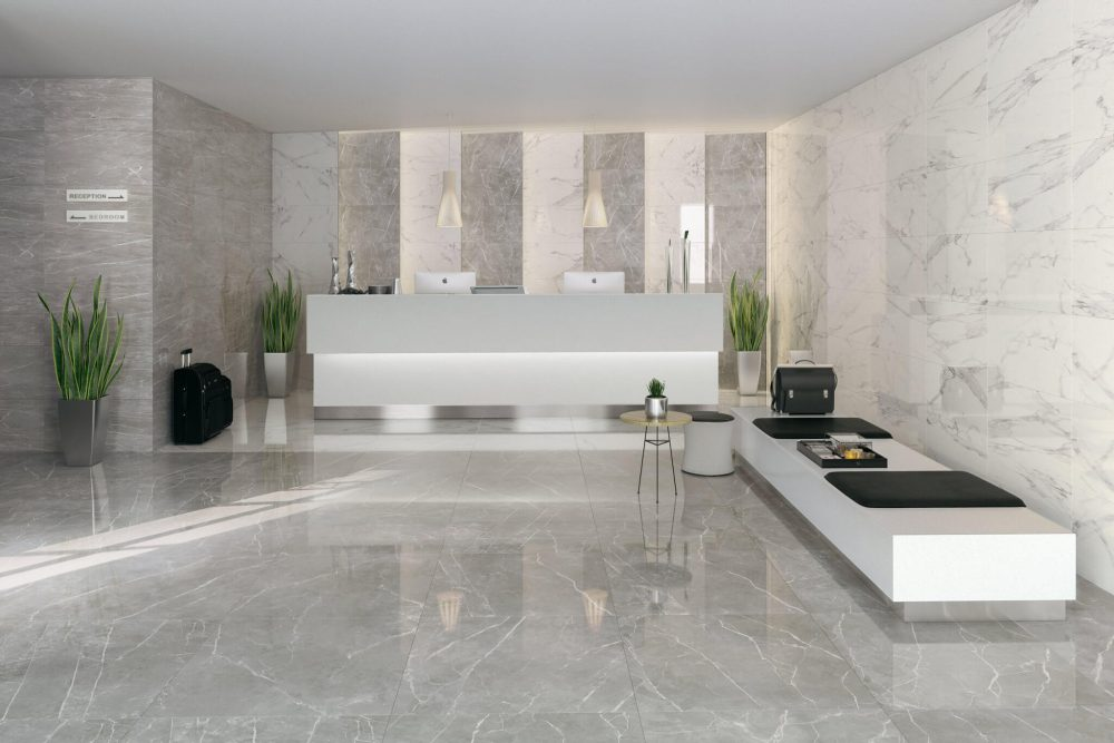 carrelage marbre gris grabels
