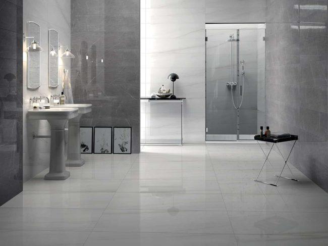 carrelage marbre gris saint gely du fesc