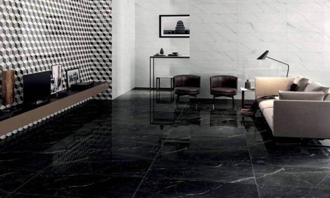 carrelage marbre noir montpellier