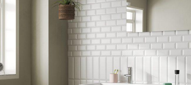 carrelage metro blanc salle de bain montpellier