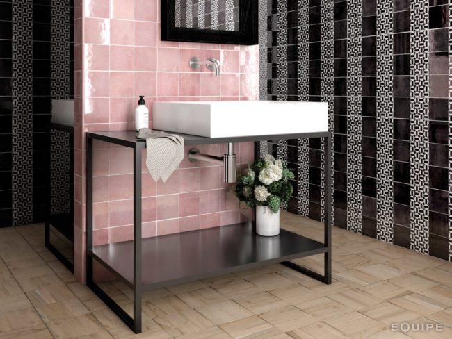 patchwork carrelage effet zellige salle de bain montpellier