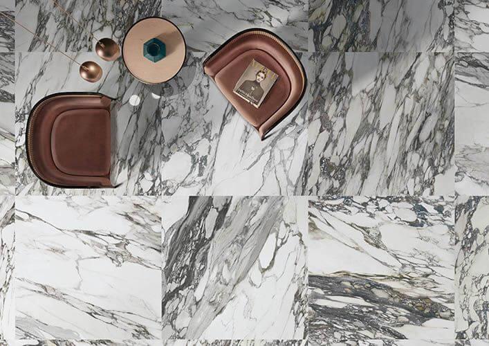 carrelage effet marbre sol