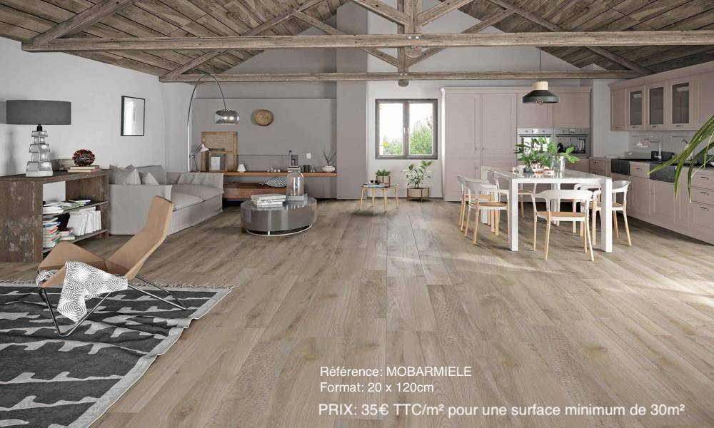 parquet naturel MOBAR