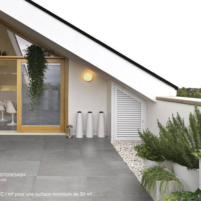 terra stone design Ash-60x60-chiselled 39€m² ttc