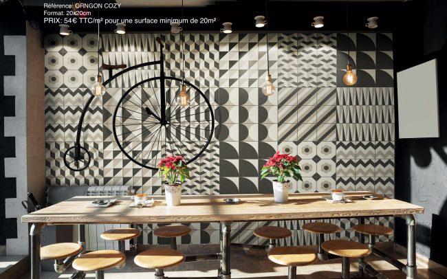 carrelage imitation carreau de ciment patchwork