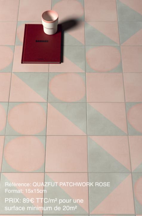 carrelage imitation carreaux de ciment patchwork
