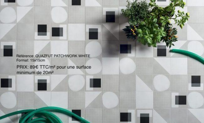 carrelage carreau de ciment patchwork