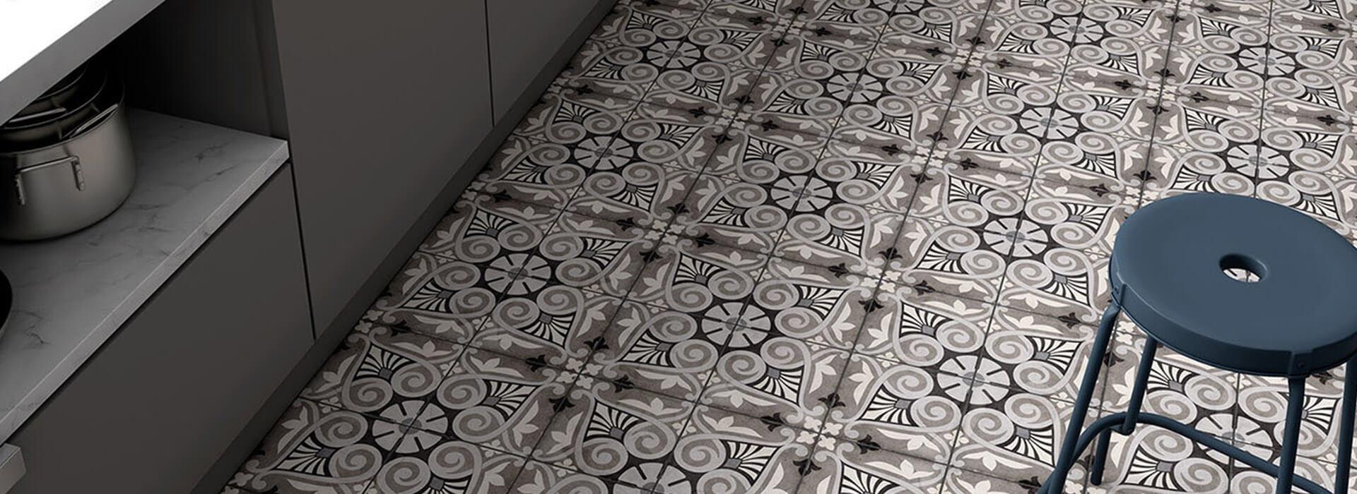 effet carreaux de ciment
