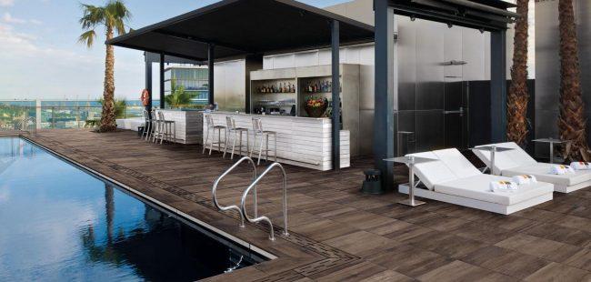 carrelage dalle sur plot cuisine antiderapant exterieur effet bois a montpellier renovation