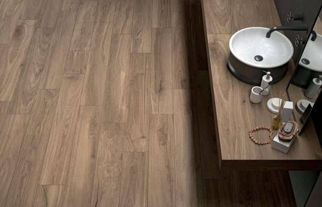 carrelage de la tour bois de chene parquet renovation salle de bain montpellier