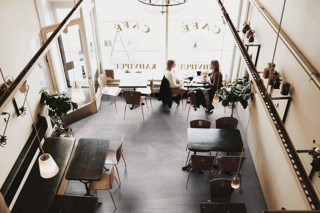carrelage de la tour effet pierre moderne salon restaurant centre ville les matelles
