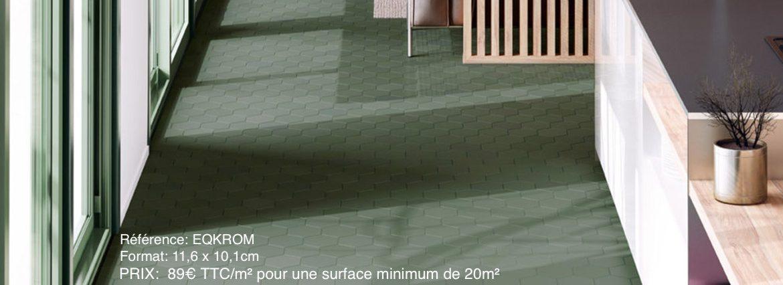 carrelage hexagonal salle de bain