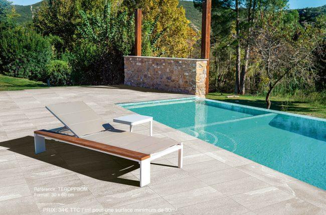 carrelage effet mineral piscine terrasse antiderapant margelles castelnau le lez renovation