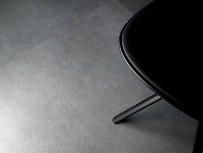 carrelage effet pierre moderne gris maison salon sejour renovation montpellier