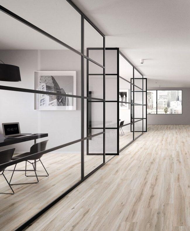 carrelage parquet loft bois industriel intérieur rénovation Jacou
