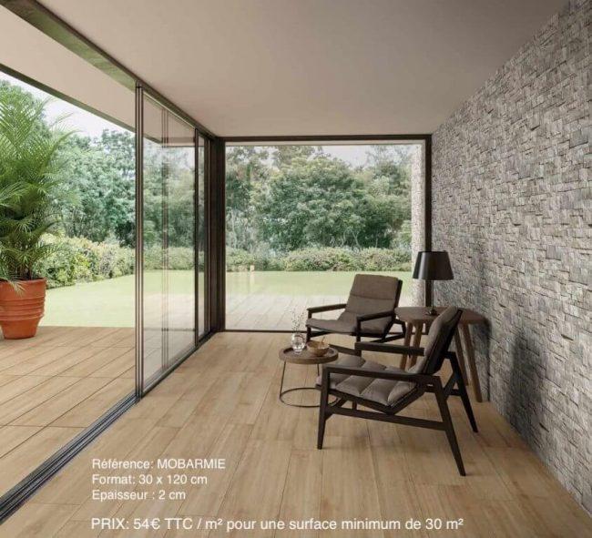 carrelage sur plot terrasse logia antiderapant exterieur effet bois renovation montpellier