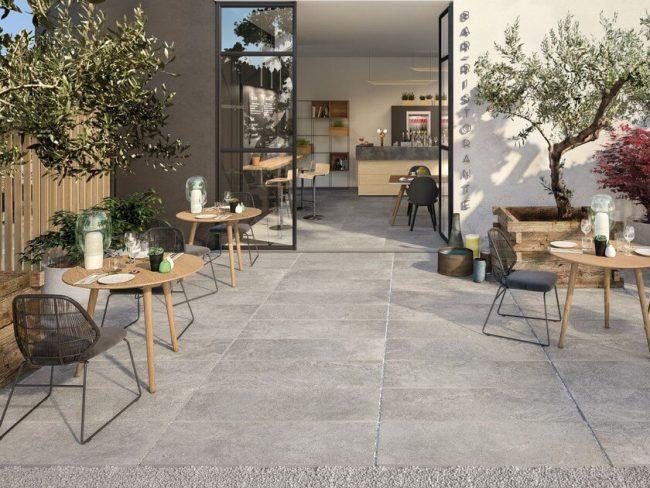 dalle sur plot antiderapant effet beton exterieur terrasse renovation baillargues