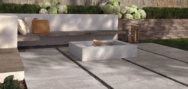dalle sur plot antiderapant effet exterieur terrasse beton renovation saint gely du fesc