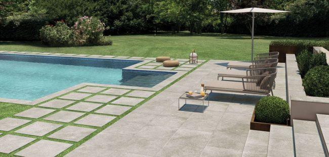 dalle sur plot effet beton terrasse antiderapant exterieur renovation le cres