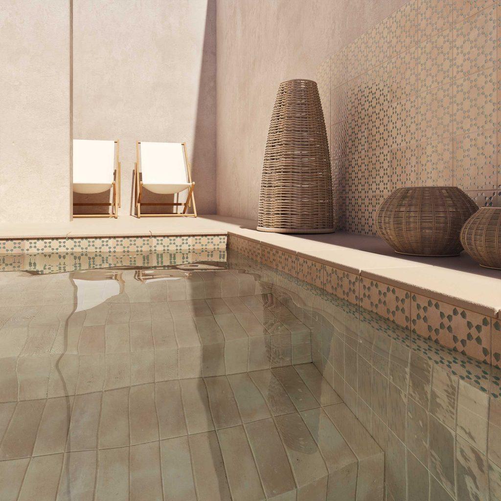 carrelage de la tour amenagement decoration terrasse piscine exterieur ibiza terre cuite piscine montpellier
