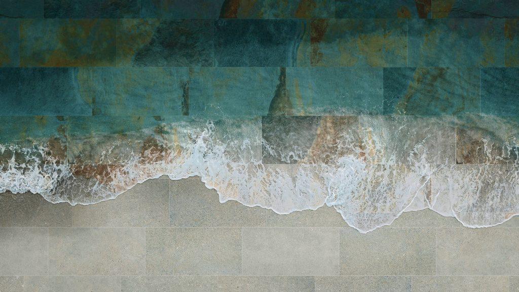 carrelage de la tour piscine tendance pierre de bali dans une maison individuelle de saint jean de vedas