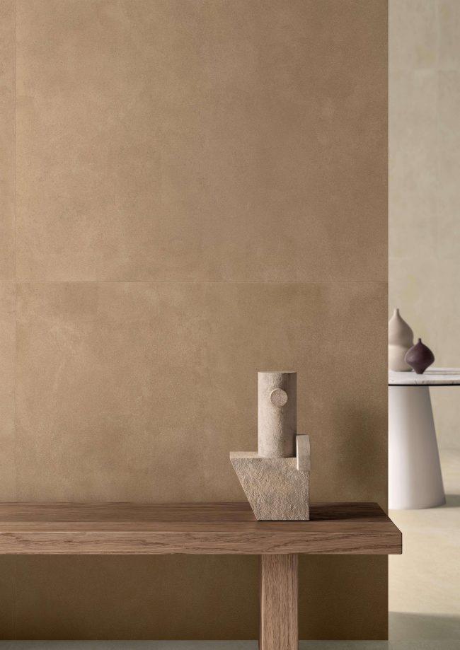 carrelage de la tour montpellier gres cerame pour sol et mur effet enduit chaux pour une piece japandi boheme tendance a montpellier