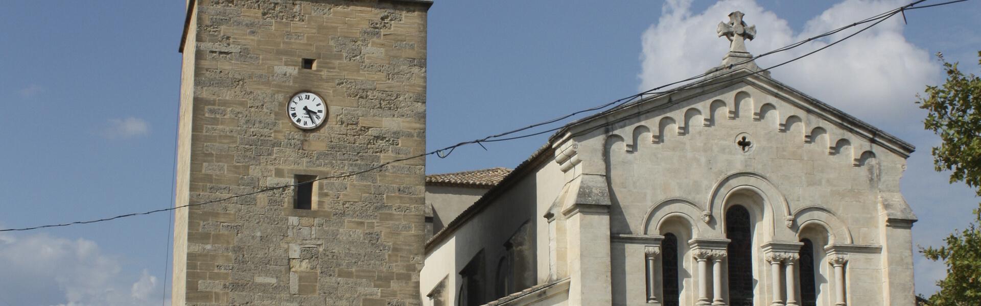 Eglise Saint Jacques de Fabrègues