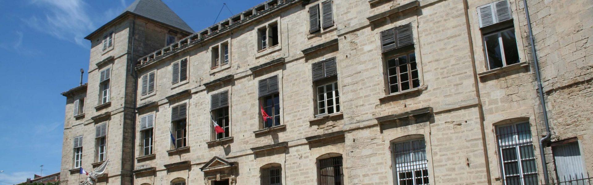 Bâtiment de la mairie de la ville de Pignan
