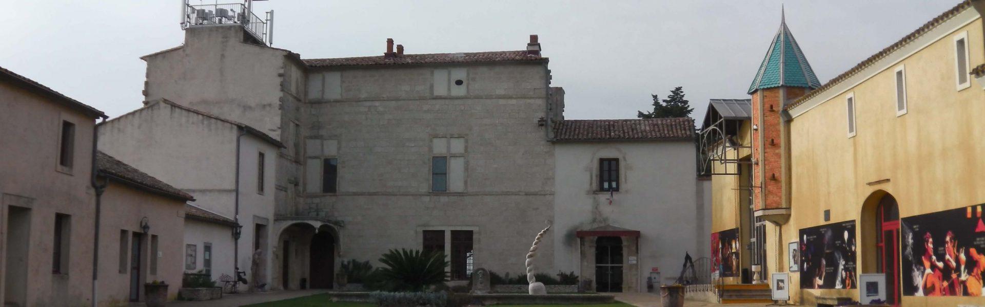 Château du terral de la ville de Saint-Jean-de-Vedas