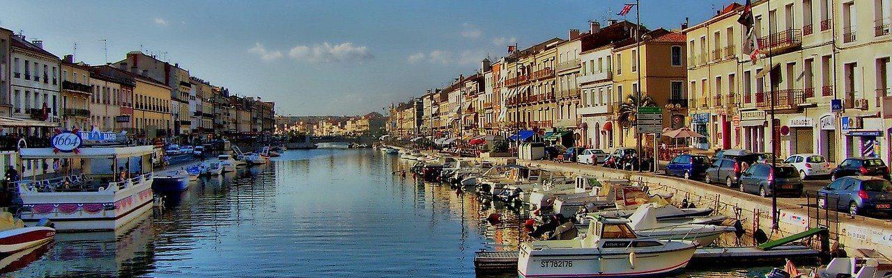Port de la ville de Sète