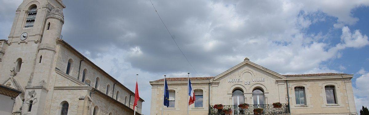 Bâtiment de la mairie de Vendargues